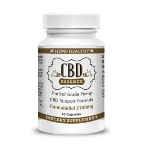CBD Capsules With 2100mg CBD (1) From CBDOilAngels.com