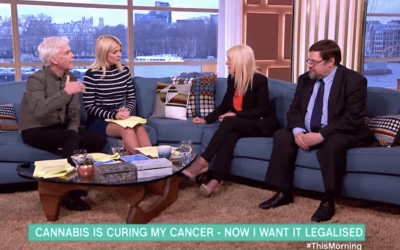 "Cannabis Cured My Cancer On ITV ""This Morning"""