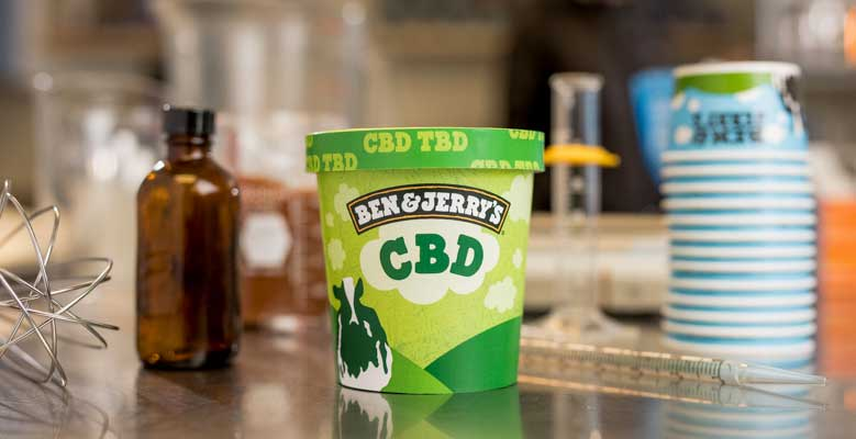 Ben And Jerry's Plans For A CBD Infused Ice Cream